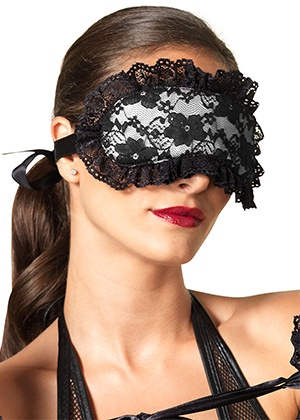 bdsm Masque Lace & satin